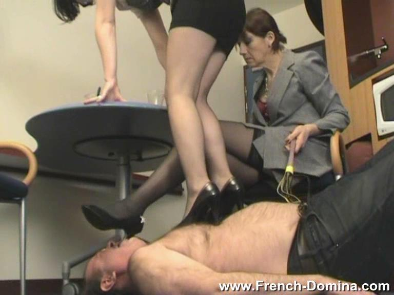 Mistress Christine In Scene: At our feet - FRENCH-DOMINA - SD/576p/WMV