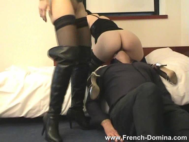 Mistress Christine In Scene: Ms Clarysse and Ms Christine - FRENCH-DOMINA - SD/576p/WMV
