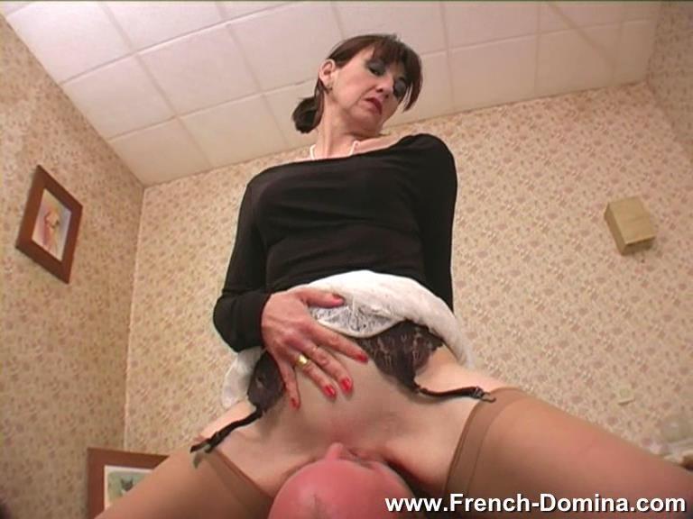 Mistress Christine In Scene: Ms Christine - Make me cum - FRENCH-DOMINA - SD/576p/WMV