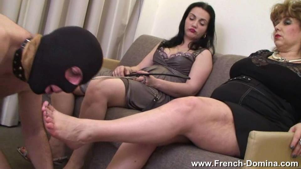 Mistress Clara In Scene: Ms Clara and Ms Sofia - FRENCH-DOMINA - SD/540p/WMV