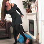 Mistress Katja In Scene: Brutal trampling session with me and my slave – MISTRESS-KATJA – FULL HD/1080p/MP4