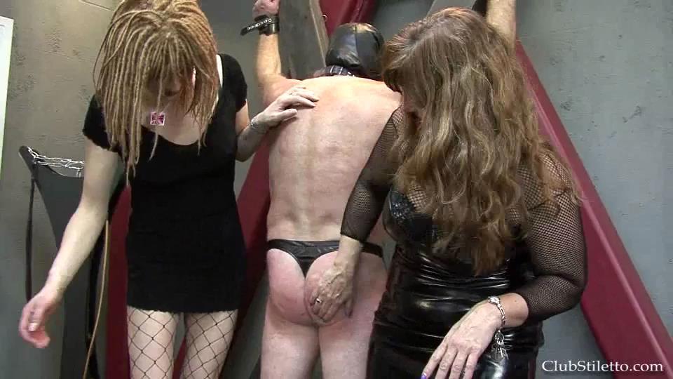 Mistress Z, Goddess Atheena, Mistress Ashley In Scene: Party Pain Slut - CLUBSTILETTO - SD/540p/MP4