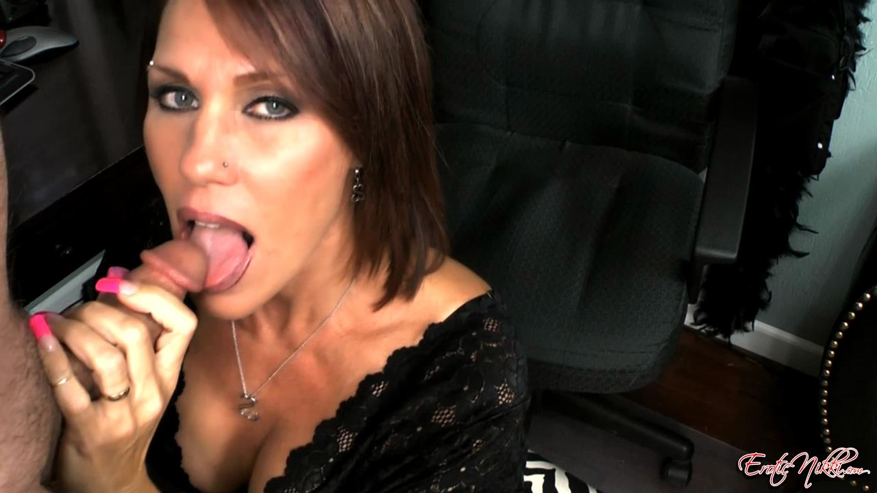 Erotic Nikki Ashton In Scene: A Lesson in Cum Swallowing - EROTICNIKKI - HD/720p/MP4