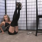 Erotic Nikki Ashton In Scene: Smoking in Bra and Pantyhose – EROTICNIKKI – HD/720p/MP4