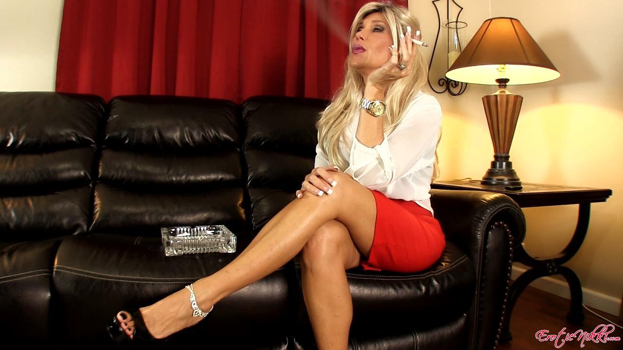 Erotic Nikki Ashton In Scene: Smoke Interrupted - EROTICNIKKI - HD/720p/MP4