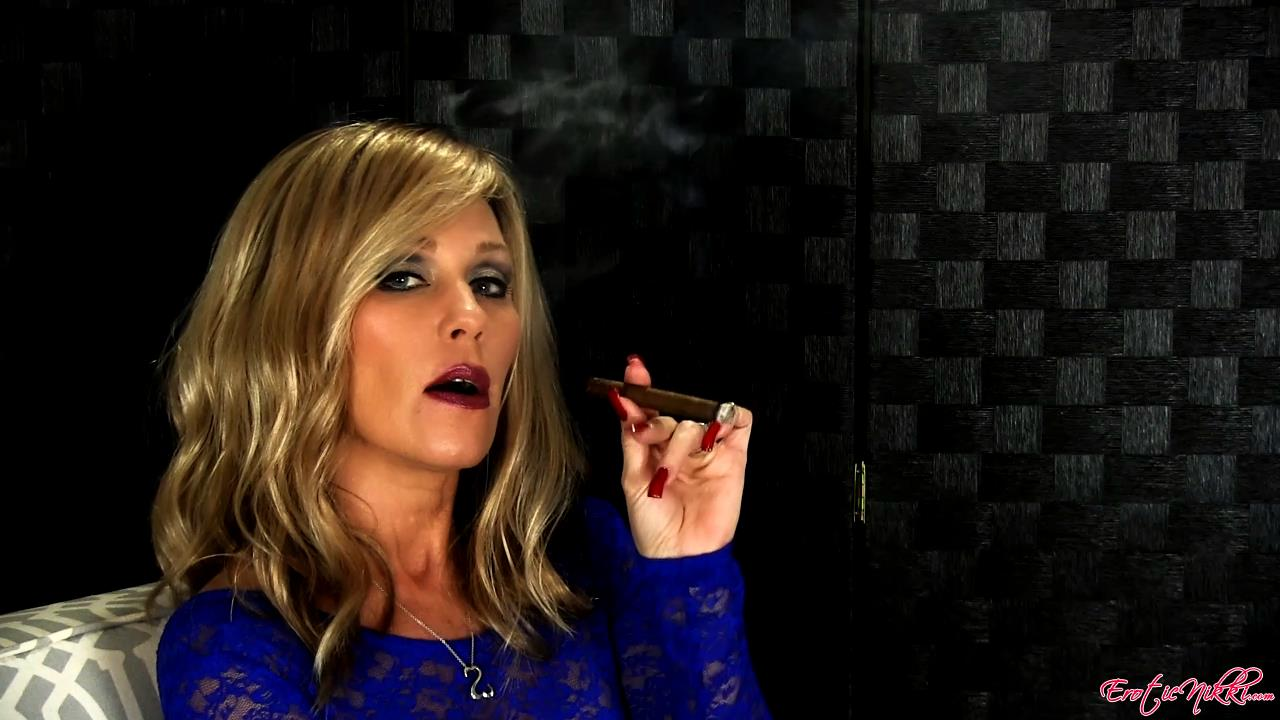 Erotic Nikki Ashton In Scene: A Little Cigar - EROTICNIKKI - HD/720p/MP4