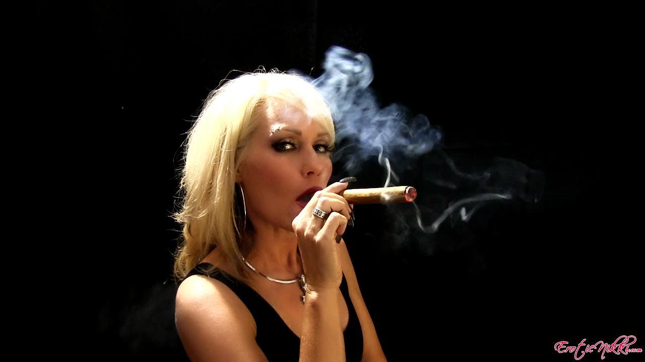 Erotic Nikki Ashton In Scene: A Big Cigar - EROTICNIKKI - HD/720p/MP4