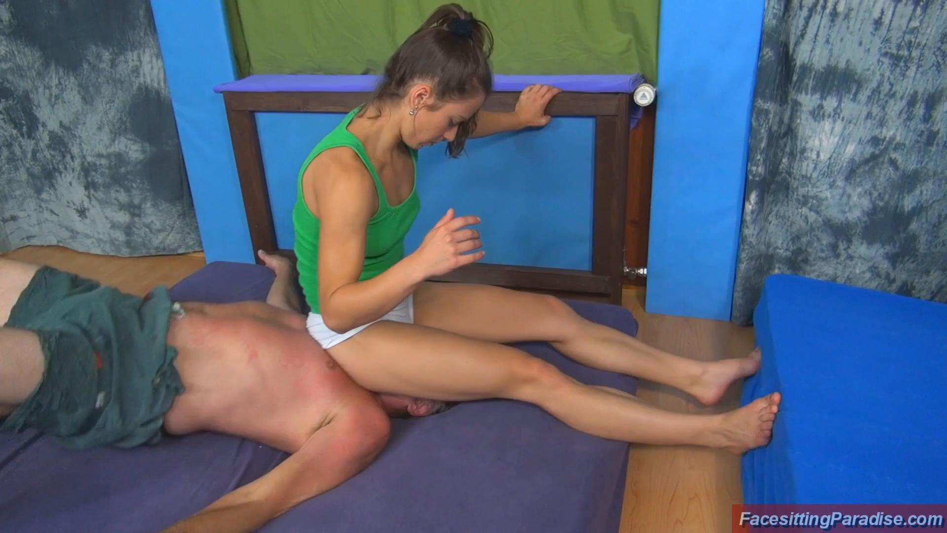 Miss Jul In Scene: Fighting and facesitting fun - FACESITTING-PARADISE - FULL HD/1080p/MP4