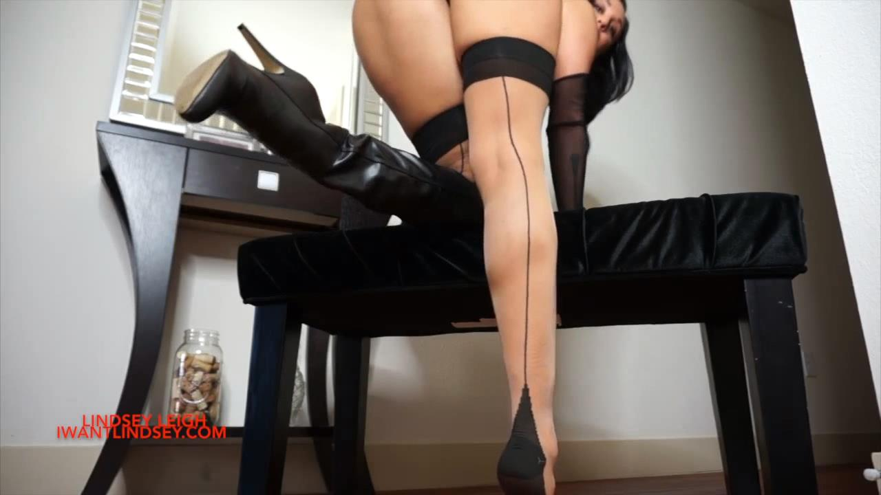 Lindsey Leigh In Scene: Stocking JOI - MYLINDSEYADDICTION - HD/720p/MP4