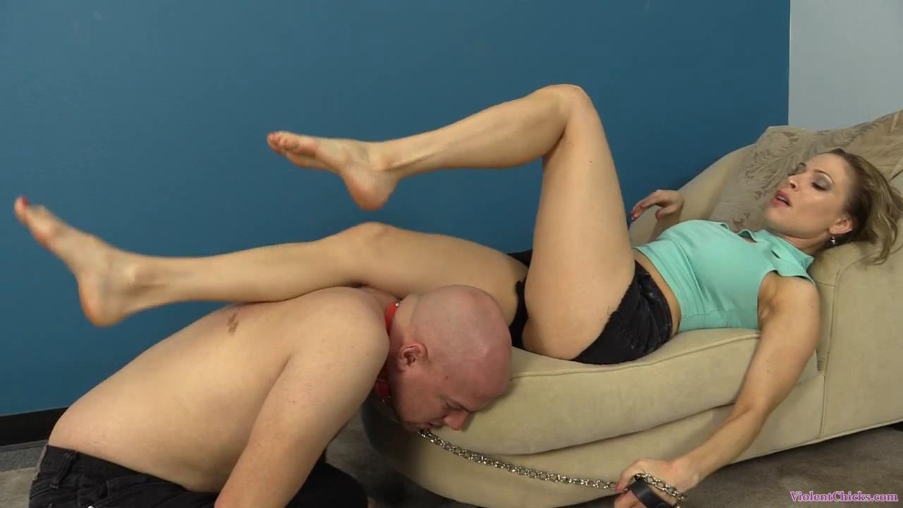 Erika Jordan In Scene: Erika Jordan torments dante with her feet - VIOLENTCHICKS - HD/720p/MP4