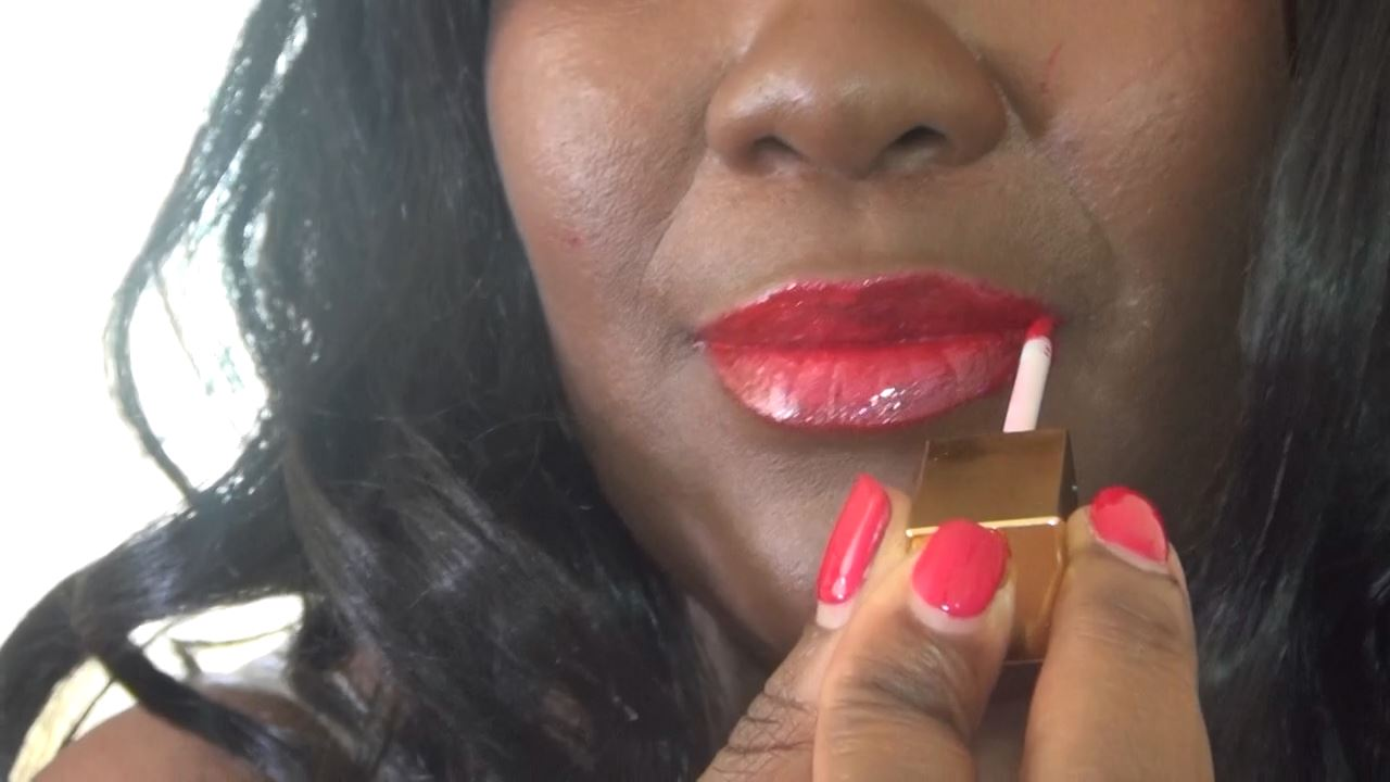 MADAME CARAMEL In Scene: Paiting my big lips red - BLACK-MISTRESSES - HD/720p/MP4