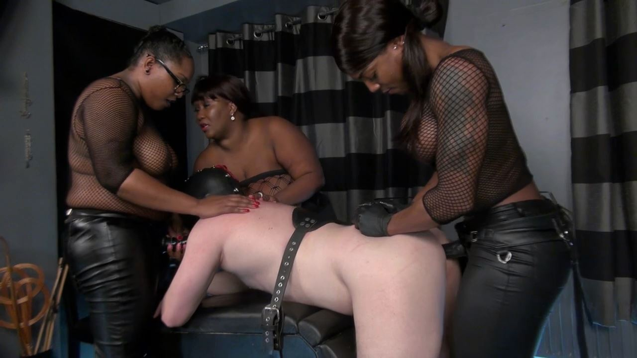 MADAME CARAMEL, MISTRESS KIANA In Scene: Fucked by 3 Ladies - BLACK-MISTRESSES - HD/720p/MP4