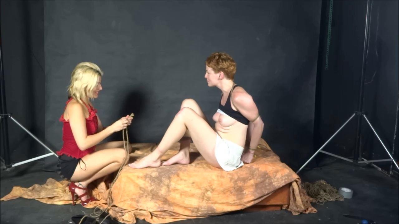 Briella Jaden In Scene: Leggy Vada in Her First Bondage Predicament - BRIELLASBONDAGEBOUTIQUE - HD/720p/MP4