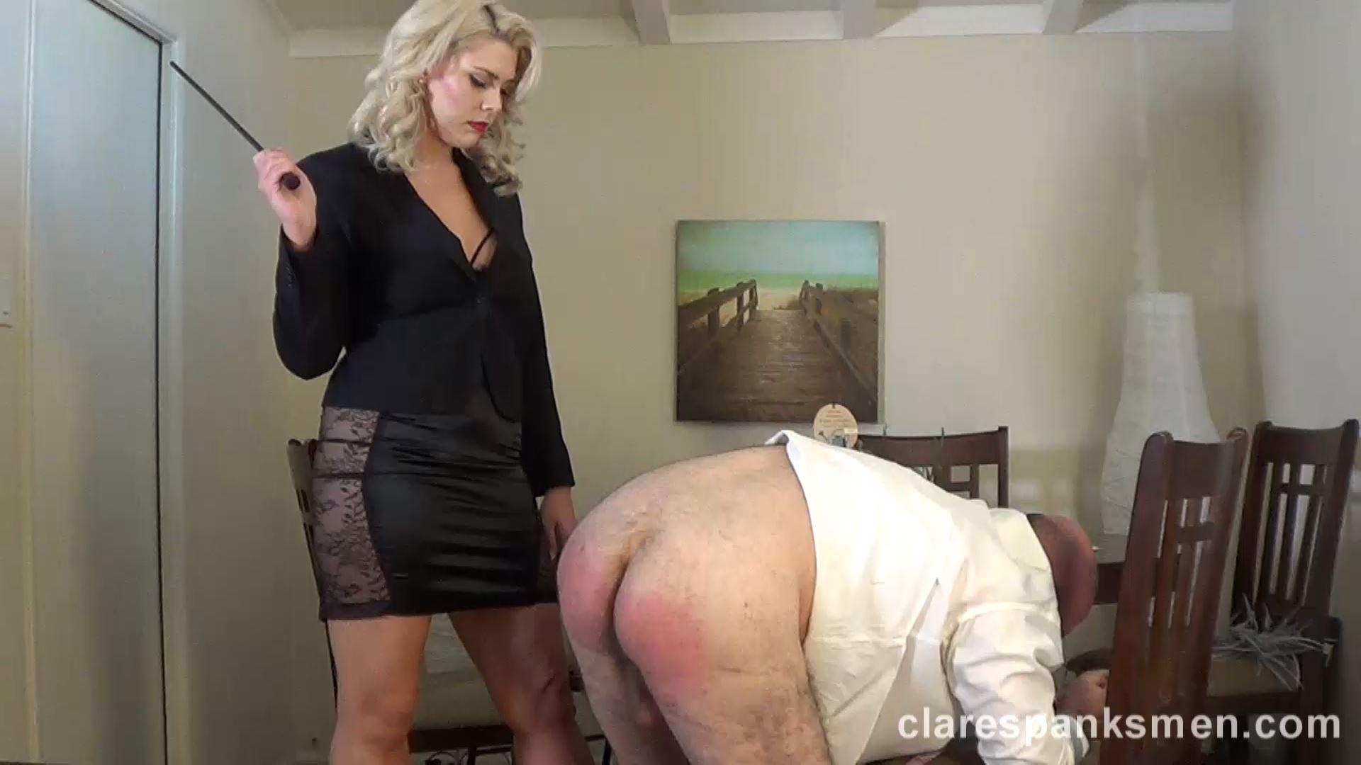 Mistress Bella Bathory In Scene: Bella Bathory Trains Men Day 2 - CLARESPANKSMEN - FULL HD/1080p/MP4