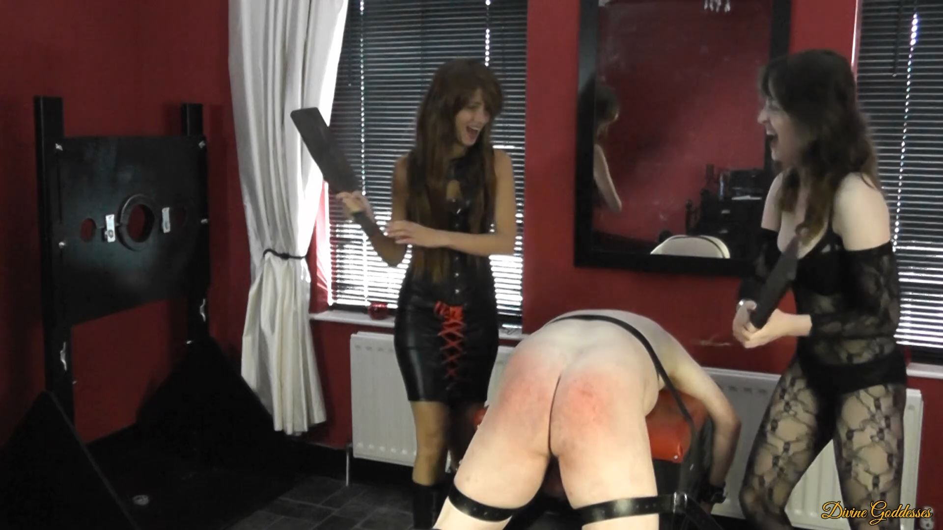 MISTRESS MARY ANN, MISTRESS PORCELAIN BEAUTY In Scene: THE NEW BOY GETS A DOUBLE SPANKING EXTRA HARD - DIVINEGODDESSES - FULL HD/1080p/MP4