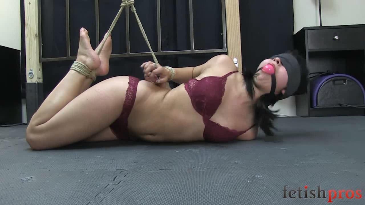 Ruby Angel In Scene: Ruby Rope Bondage Struggle - FETISHPROS - HD/720p/MP4