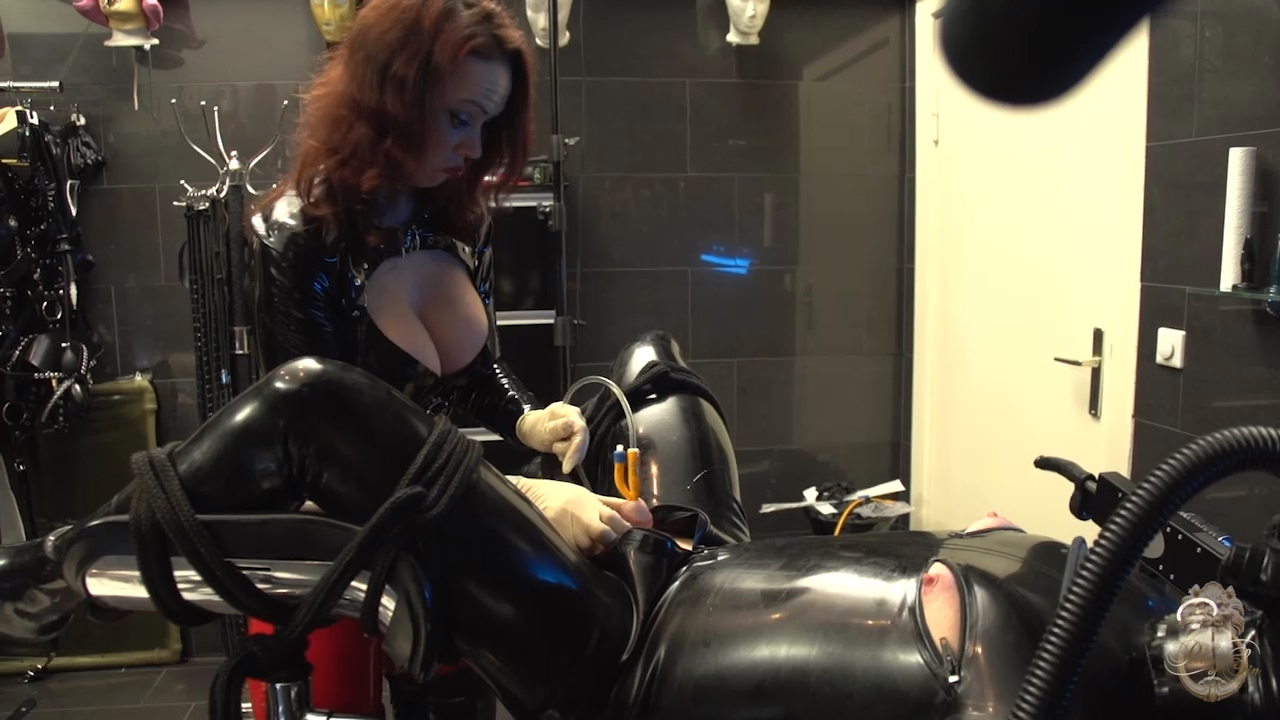 LADY CASSANDRA In Scene: Machined Rubber Toy (Complete Video set) - KATES-PALACE - HD/720p/MP4