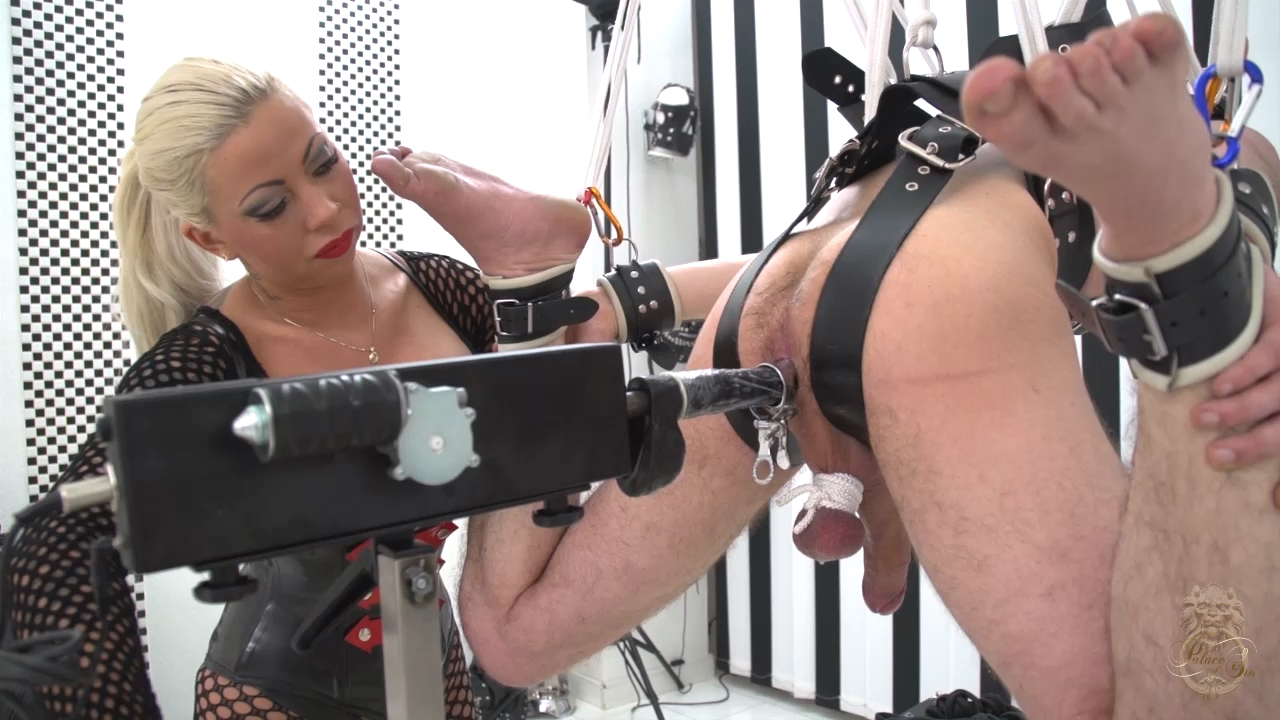 LADY KATE In Scene: The New Slave Harnes (Complete Video set) - KATES-PALACE - HD/720p/MP4