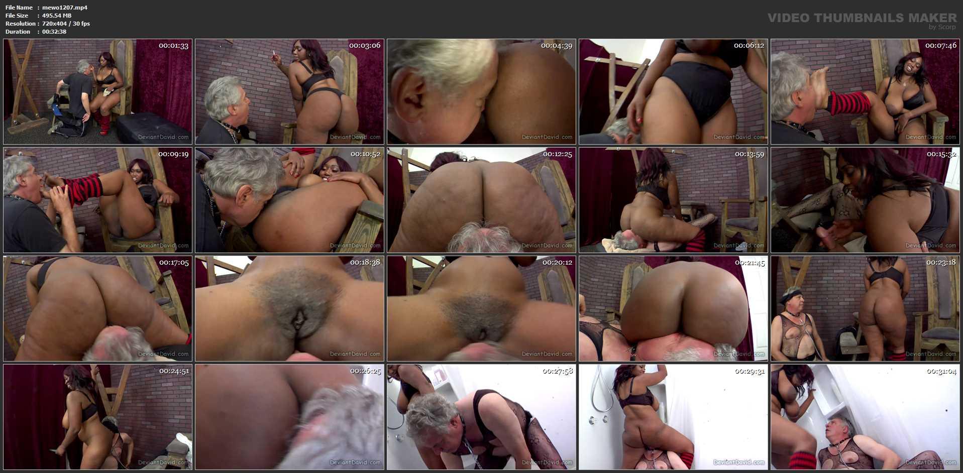 Delotta Brown In Scene: DEVIANTDAVID - Delotta Brown - MEANWORLD - SD/404p/MP4