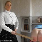 miss Kenworthy In Scene: My new tulip wood ruler part 1 – THE-ENGLISH-GOVERNESS – FULL HD/1080p/MP4