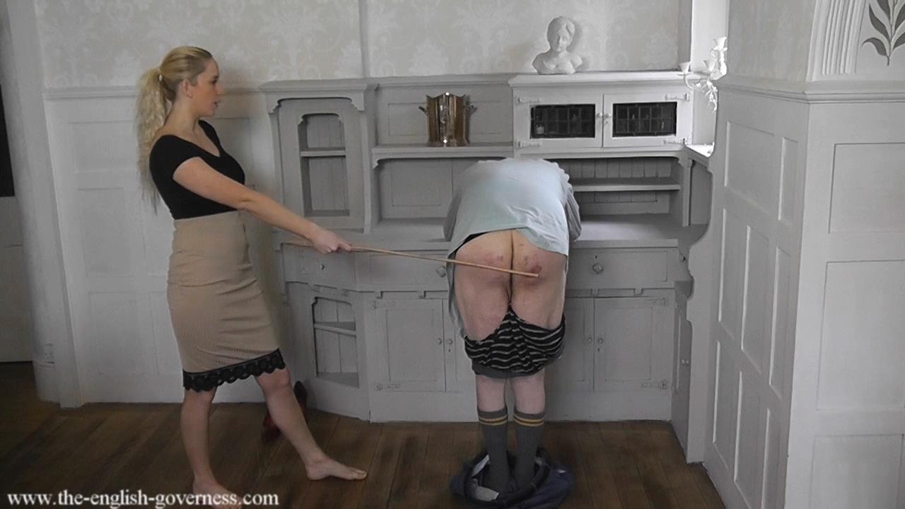 femdom spanking governess