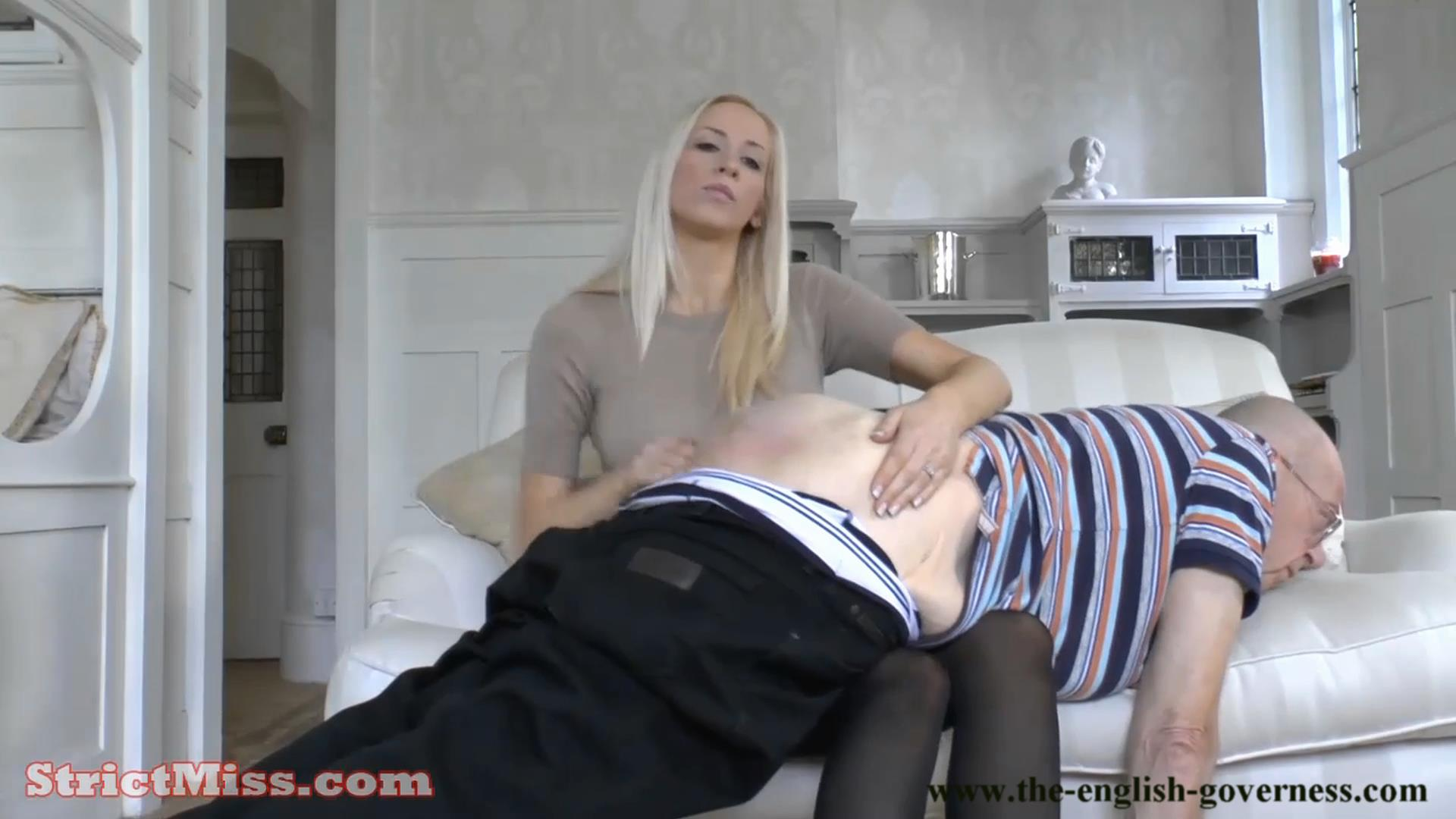 Miss Kenworthy an old fashioned hairbrushing - THE-ENGLISH-GOVERNESS - FULL HD/1080p/MP4