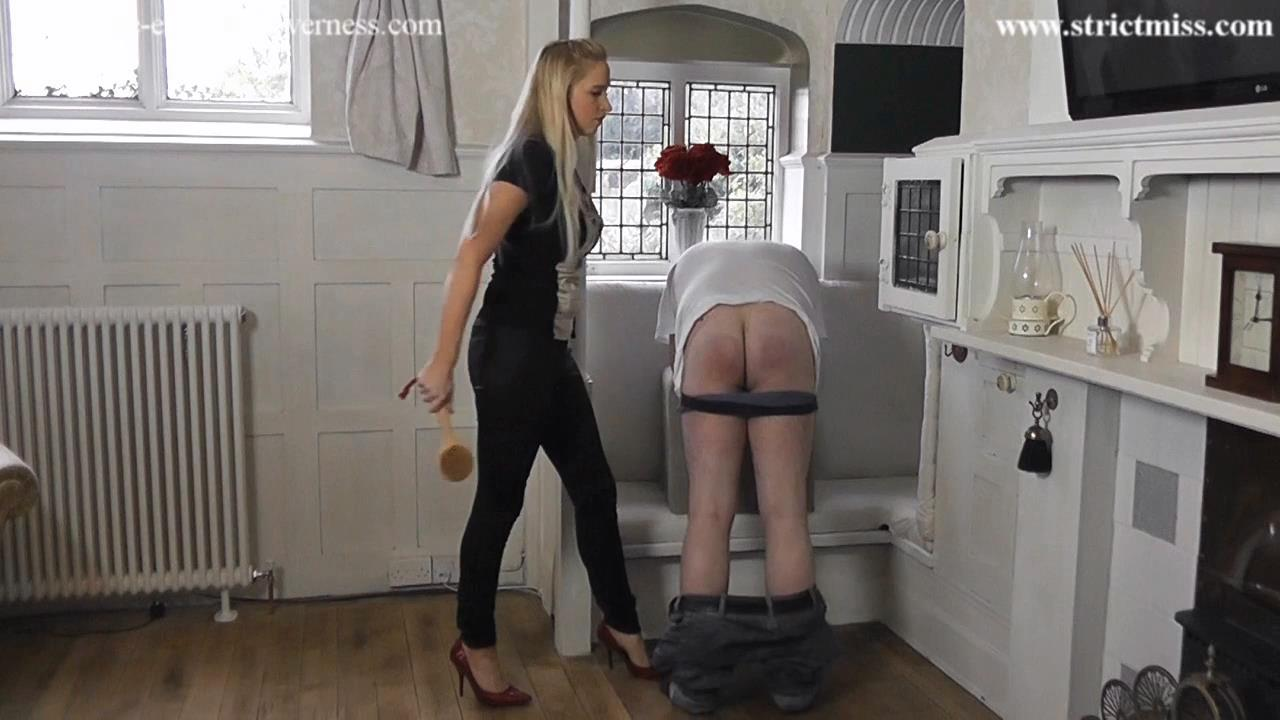 Governess Kenworthy straps naughty boy 2 - THE-ENGLISH-GOVERNESS - HD/720p/MP4