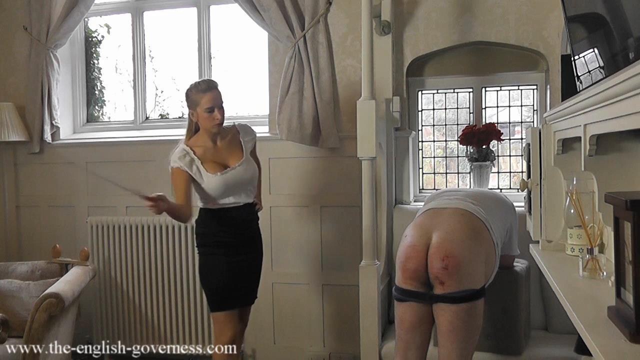 image Brutal domination scene with kiki and sandra and their slave