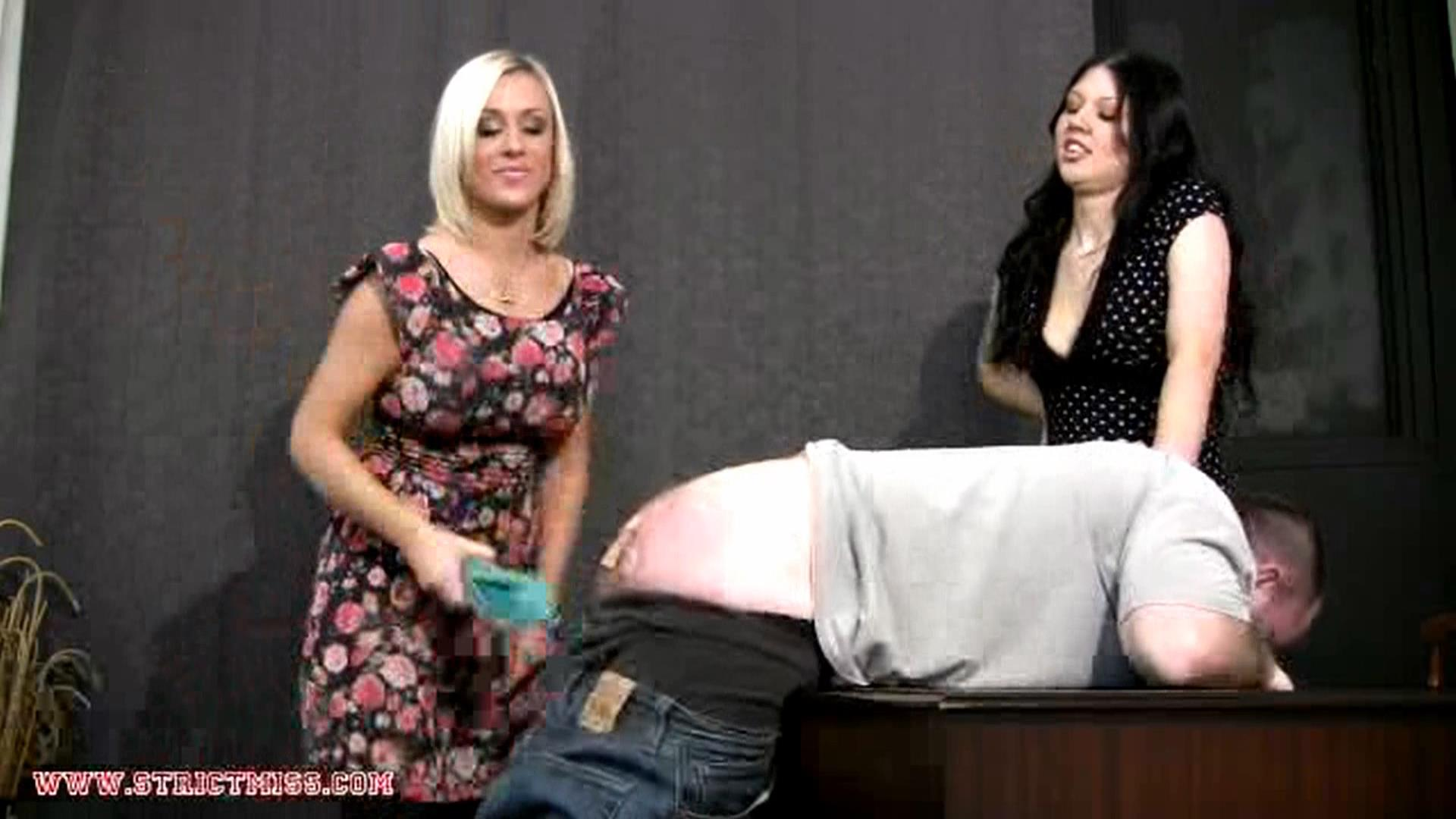 Miss Monroe, Miss Cass In Scene: Punish together - THE-ENGLISH-GOVERNESS - FULL HD/1080p/MP4