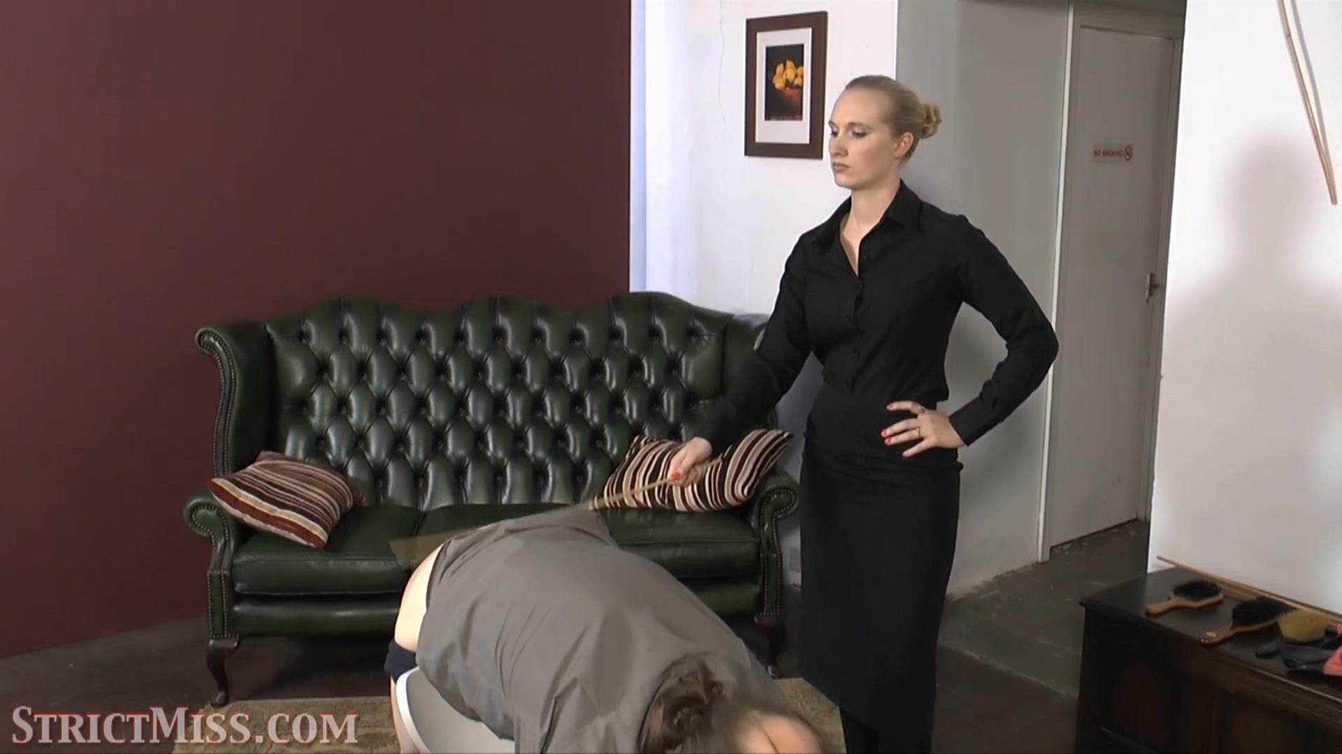 Miss Eve In Scene: Miss eve is not messing around - THE-ENGLISH-GOVERNESS - FULL HD/1080p/MP4