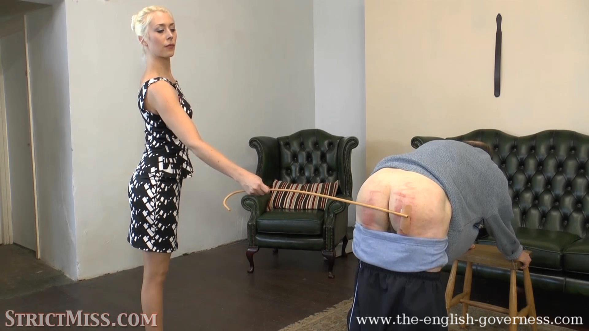 A caning for the naughty boy - THE-ENGLISH-GOVERNESS - FULL HD/1080p/MP4
