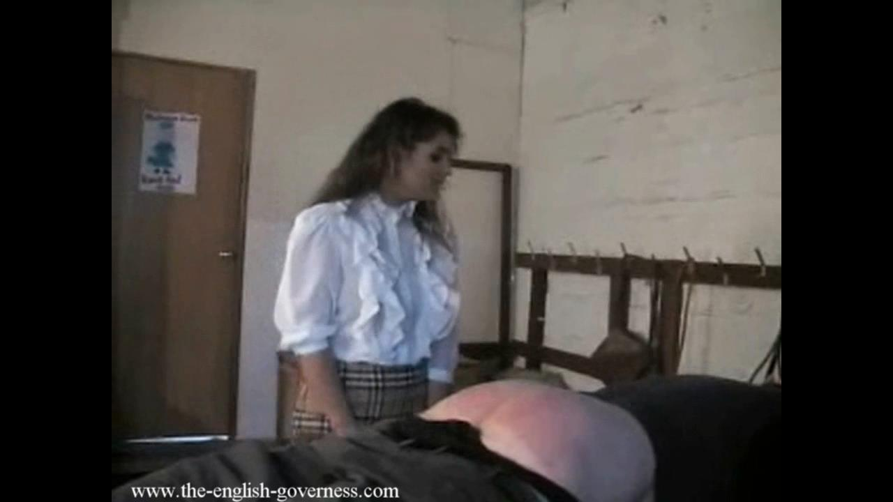 Governess Antonia In Scene: Antonia governess uses her strap - THE-ENGLISH-GOVERNESS - HD/720p/MP4