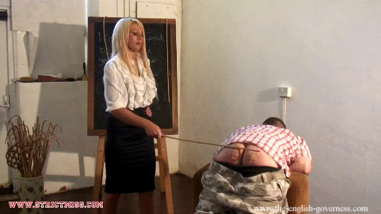 Governess Adelaide In Scene: Governess Adelaide gives severe school boy caning - THE-ENGLISH-GOVERNESS - HD/720p/MP4