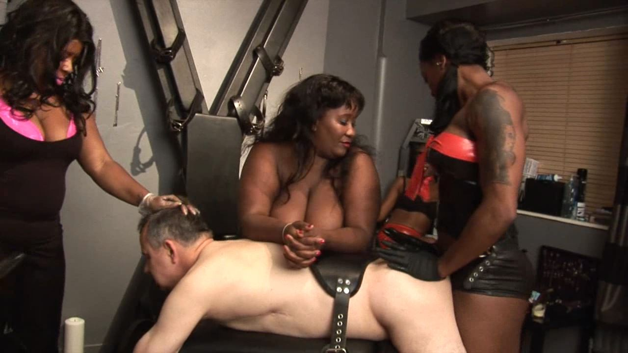 BELLADONNA, MISTRESS ESME, MISTRESS KIANA In Scene: Mistress Esme, Mistress Kiana,Madame Caramel and Belladonna - BLACK-MISTRESSES - HD/720p/MP4