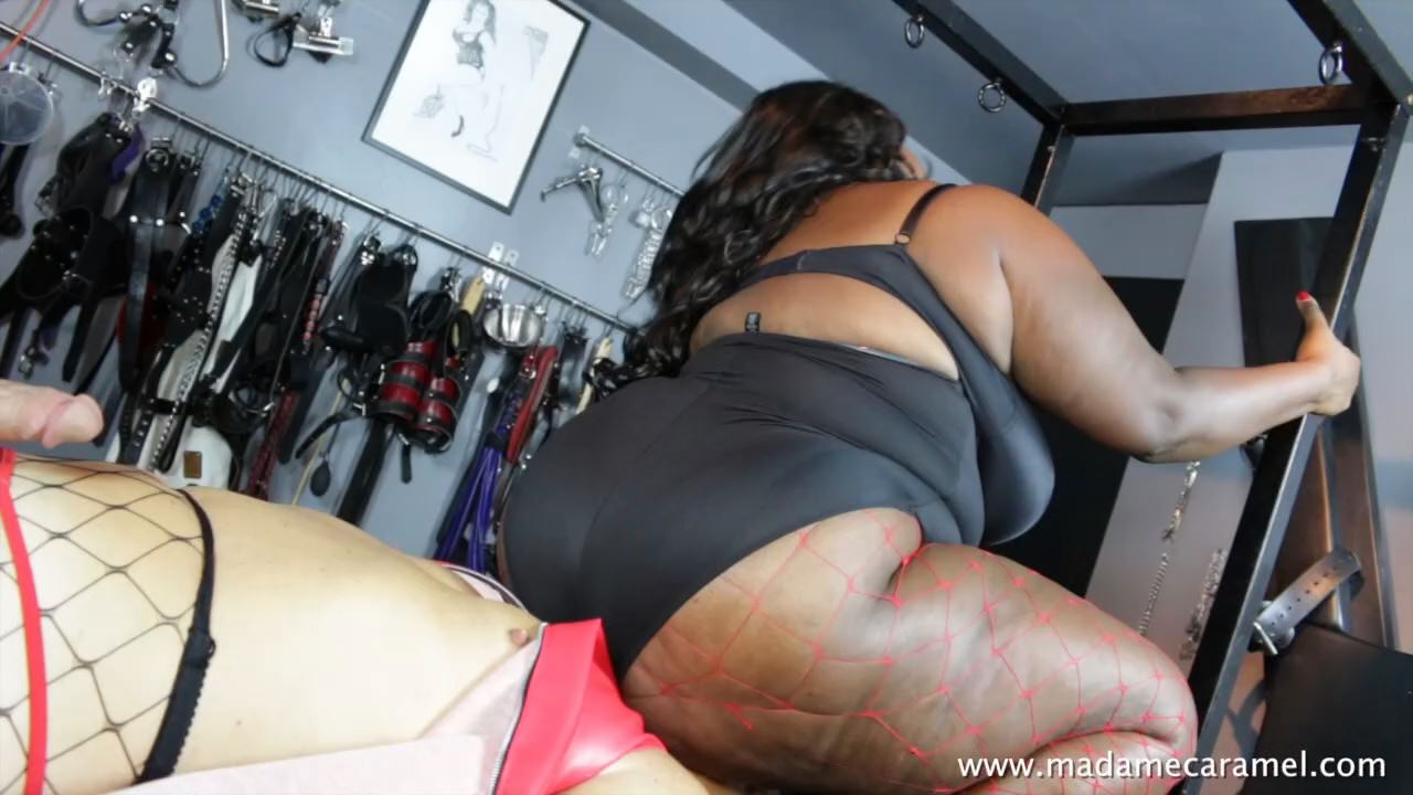 MADAME CARAMEL In Scene: Extreme Facesitting Complete - BLACK-MISTRESSES - HD/720p/MP4