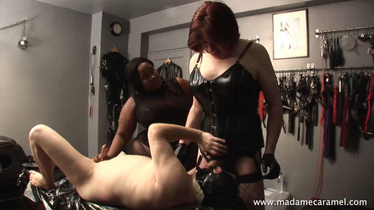 TV MISTRESS TALIA, MADAME CARAMEL In Scene: Ass and Cock Worship - BLACK-MISTRESSES - HD/720p/MP4