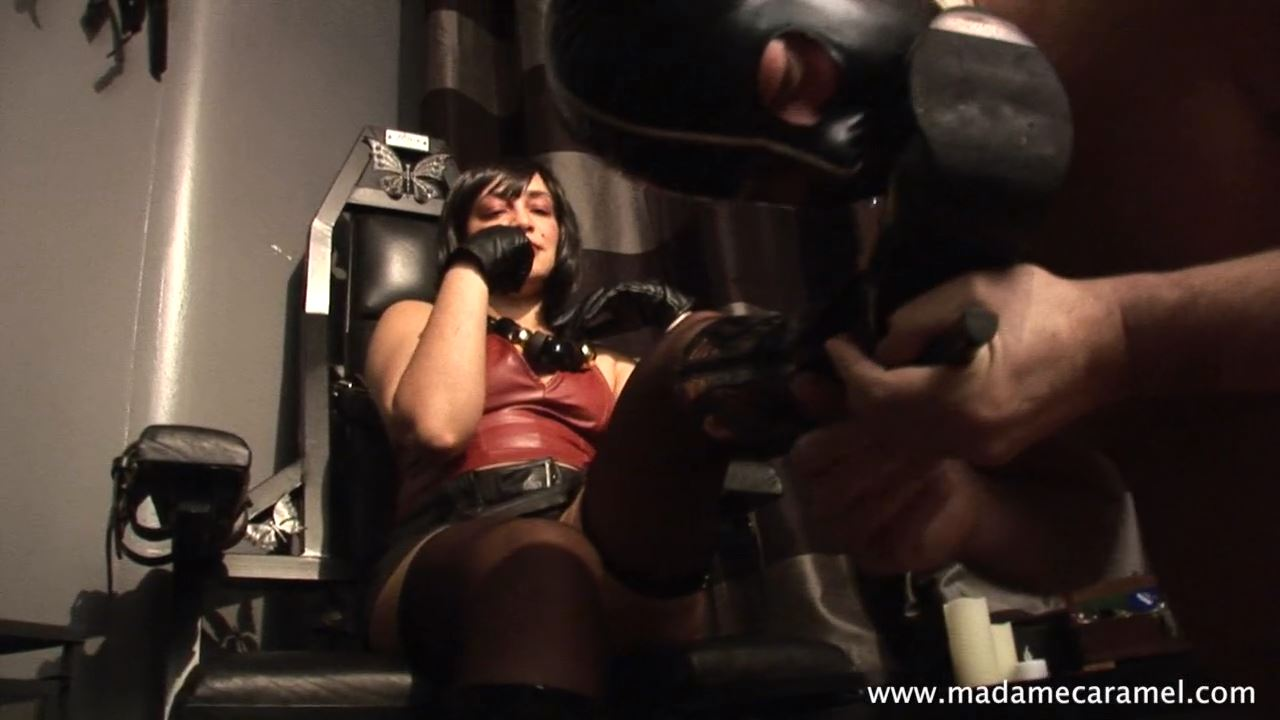 MISS DELILAH In Scene: Leather Worship - BLACK-MISTRESSES - HD/720p/MP4