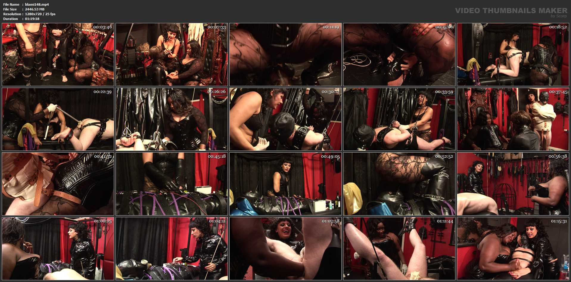 MISTRESS ROUGE, MADAME CARAMEL In Scene: Madame Caramel and Mistress Rouge - BLACK-MISTRESSES - HD/720p/MP4