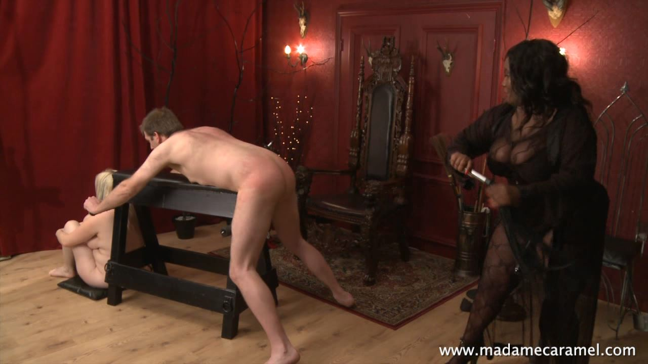 MADAME CARAMEL In Scene: Slave dave�s punishment - BLACK-MISTRESSES - HD/720p/MP4
