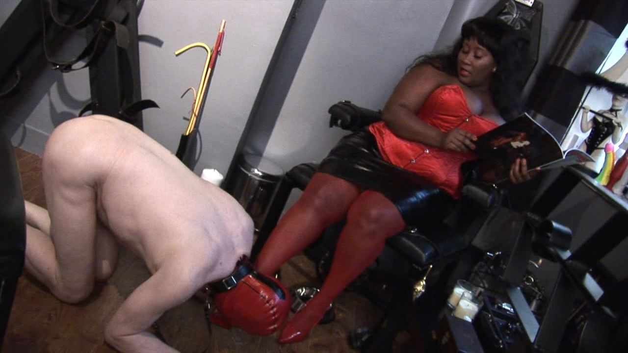 MADAME CARAMEL In Scene: One on One anal session - BLACK-MISTRESSES - HD/720p/MP4