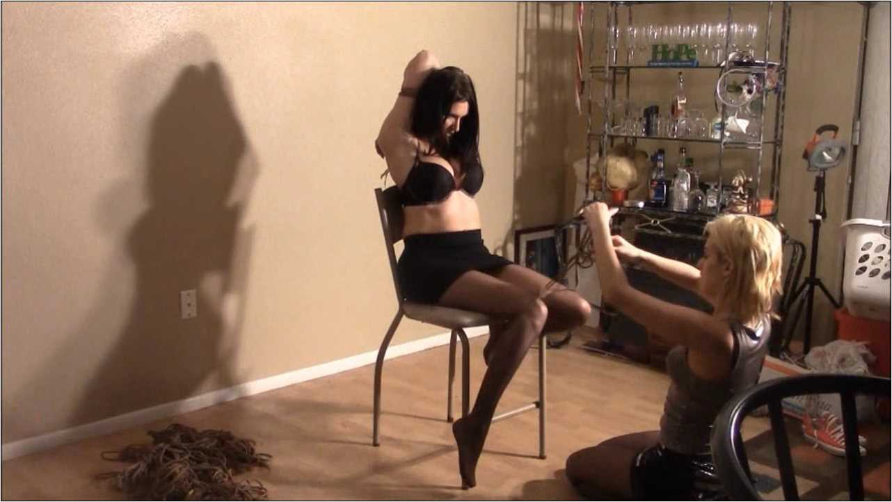 Kelly, Briella Jaden In Scene: Kelly's Audition - BRIELLASBONDAGEBOUTIQUE - HD/720p/MP4