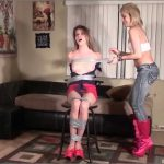 Alaina Rose, Briella Jaden In Scene: Leggy Secretary Taped Up Package – BRIELLASBONDAGEBOUTIQUE – HD/720p/MP4