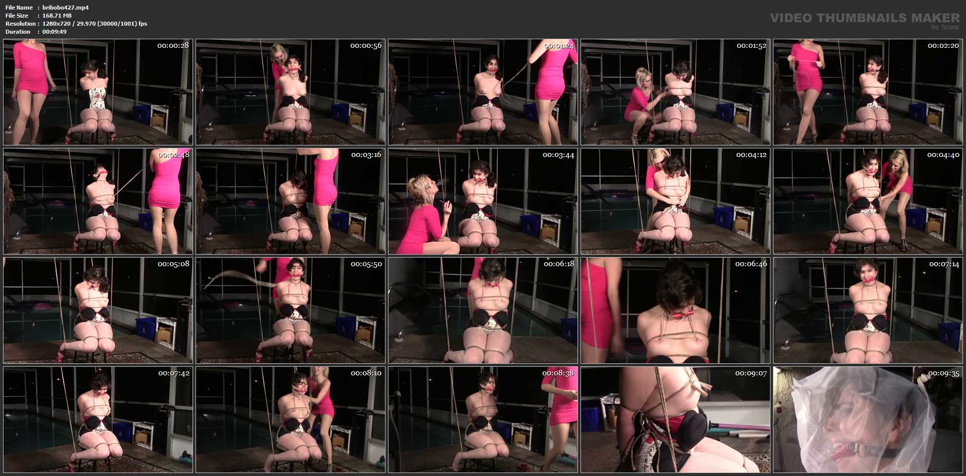 Briella Jaden In Scene: Struggle Struggle Struggle You Drooling Little Bitch - BRIELLASBONDAGEBOUTIQUE - HD/720p/MP4