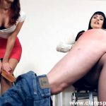 Alexis Grace, Snow Mercy In Scene: Working 9 to 5 – CLARESPANKSMEN – FULL HD/1080p/MP4