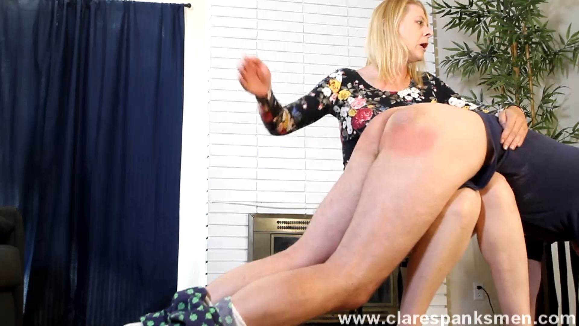 Miss Cassie In Scene: Miss Cassie Spanks Her Husband - CLARESPANKSMEN - FULL HD/1080p/MP4