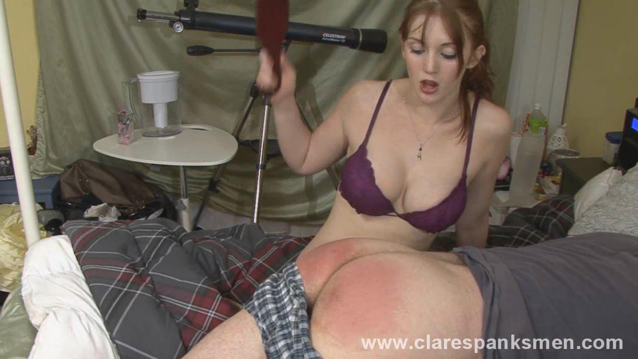 Audrey Tate In Scene: Boyfriend Training - CLARESPANKSMEN - HD/720p/MP4