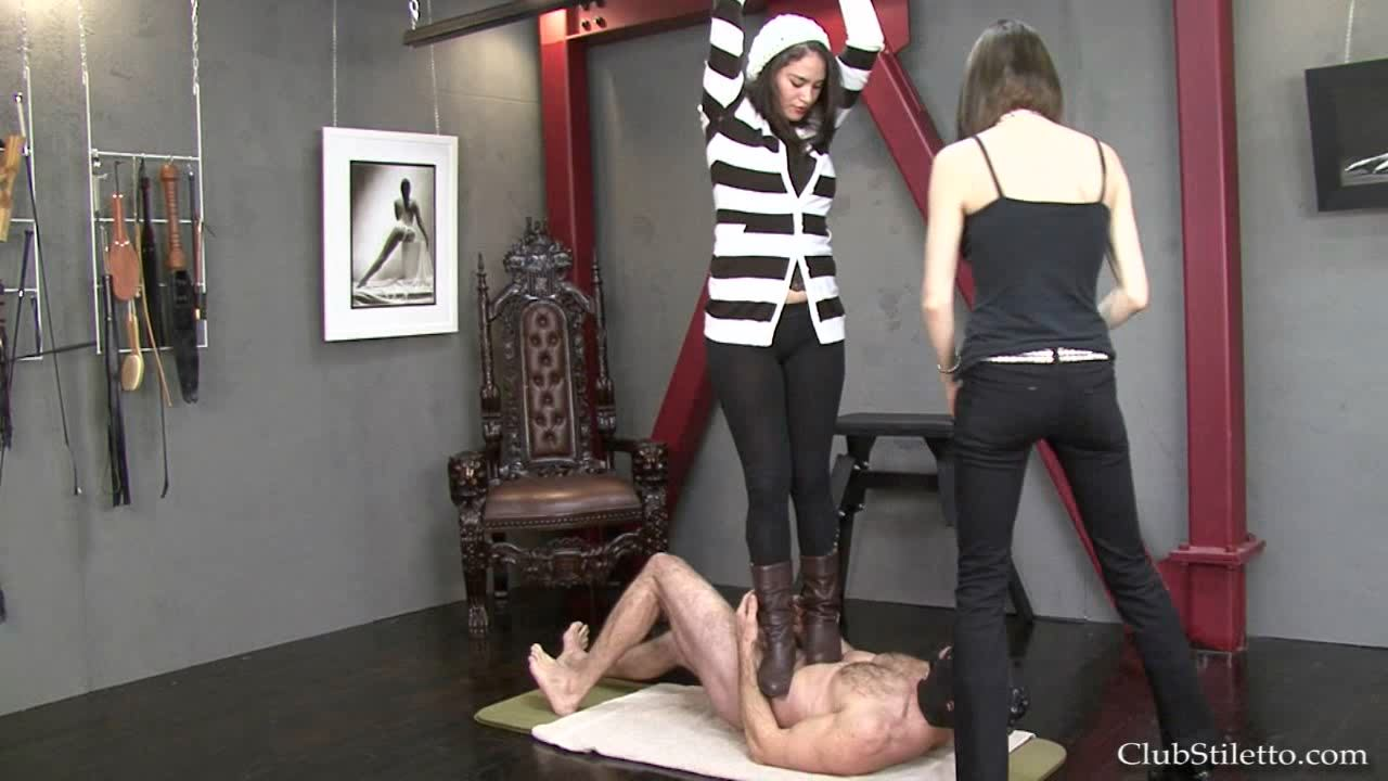 Goddess Therapy, Mistress Bijou Steal In Scene: The Girls Love to Trample - CLUBSTILETTO - HD/720p/MP4