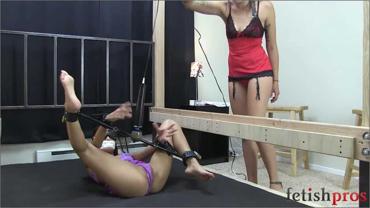Asia Perez In Scene: Spreader Bar Squirt - FETISHPROS - HD/720p/MP4