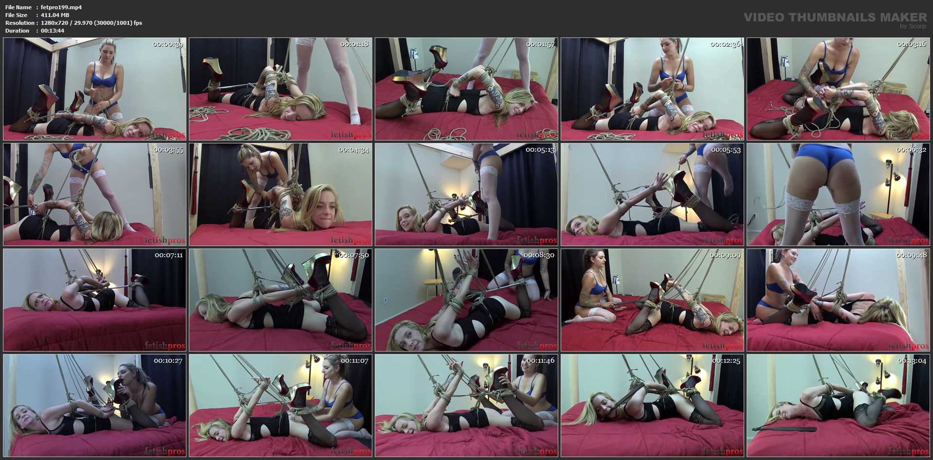 Jeze Belle, Missy Minks In Scene: The Master Knot - FETISHPROS - HD/720p/MP4