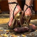 Mistress Julia In Scene: Humiliation of a slave – JULIASHEELS – HD/720p/MP4
